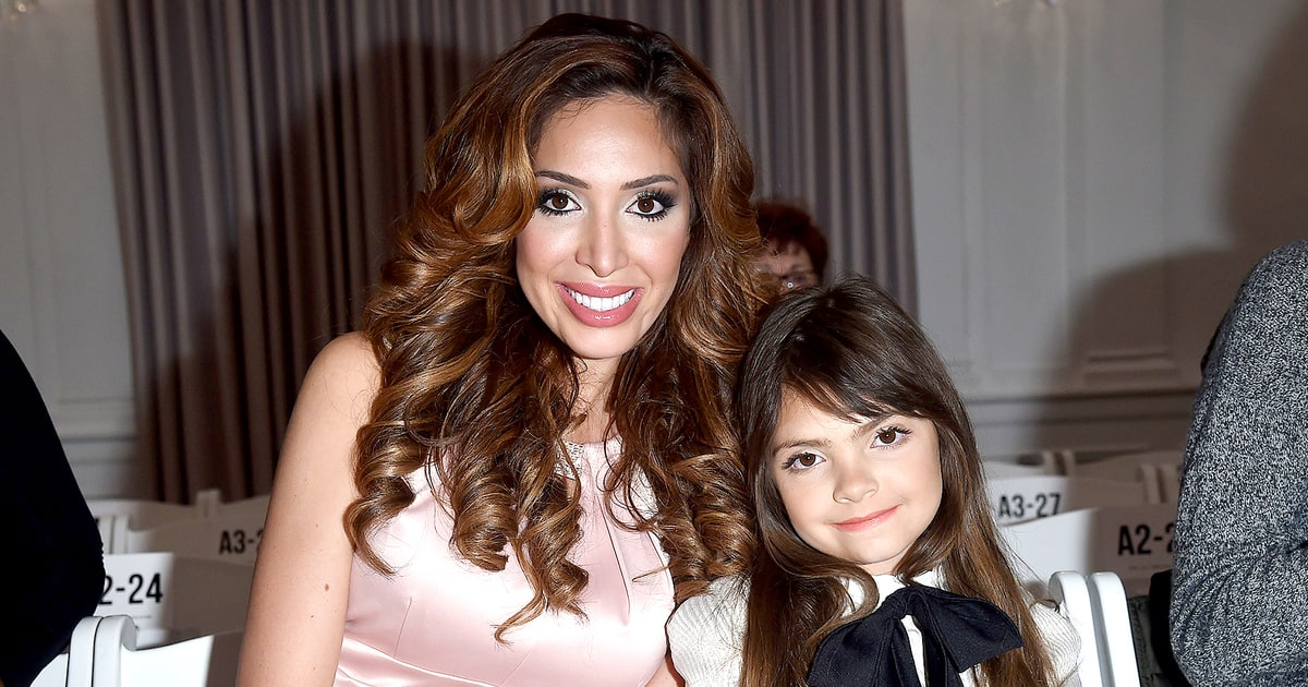 Farrah Abraham Why I Let My Daughter Wear Makeup To