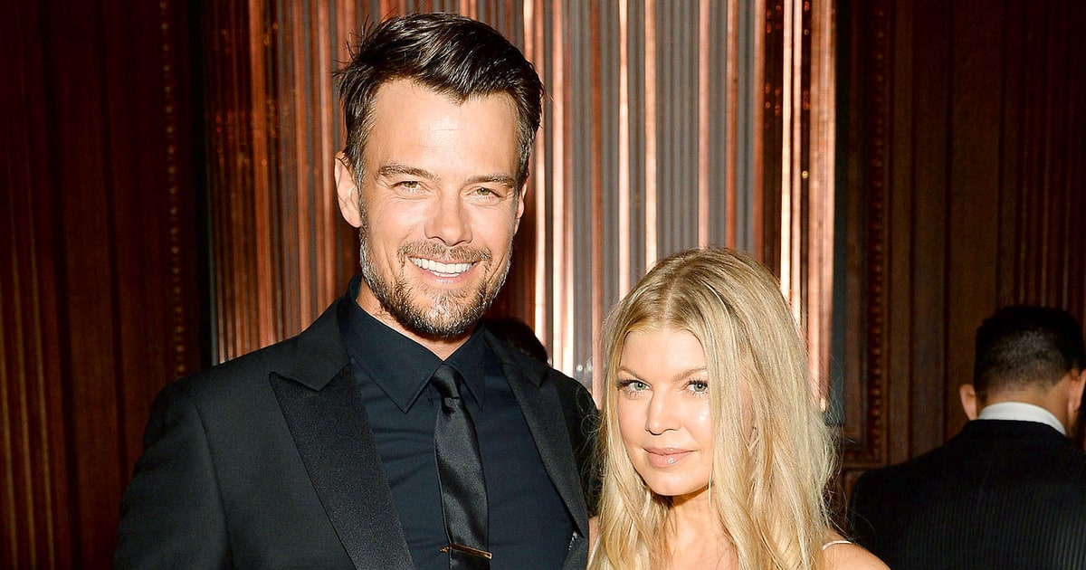 how did josh duhamel and fergie meet
