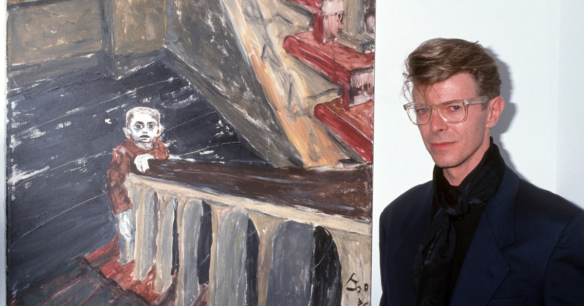David Bowie's Art Collection Set for Exhibition, Auction news