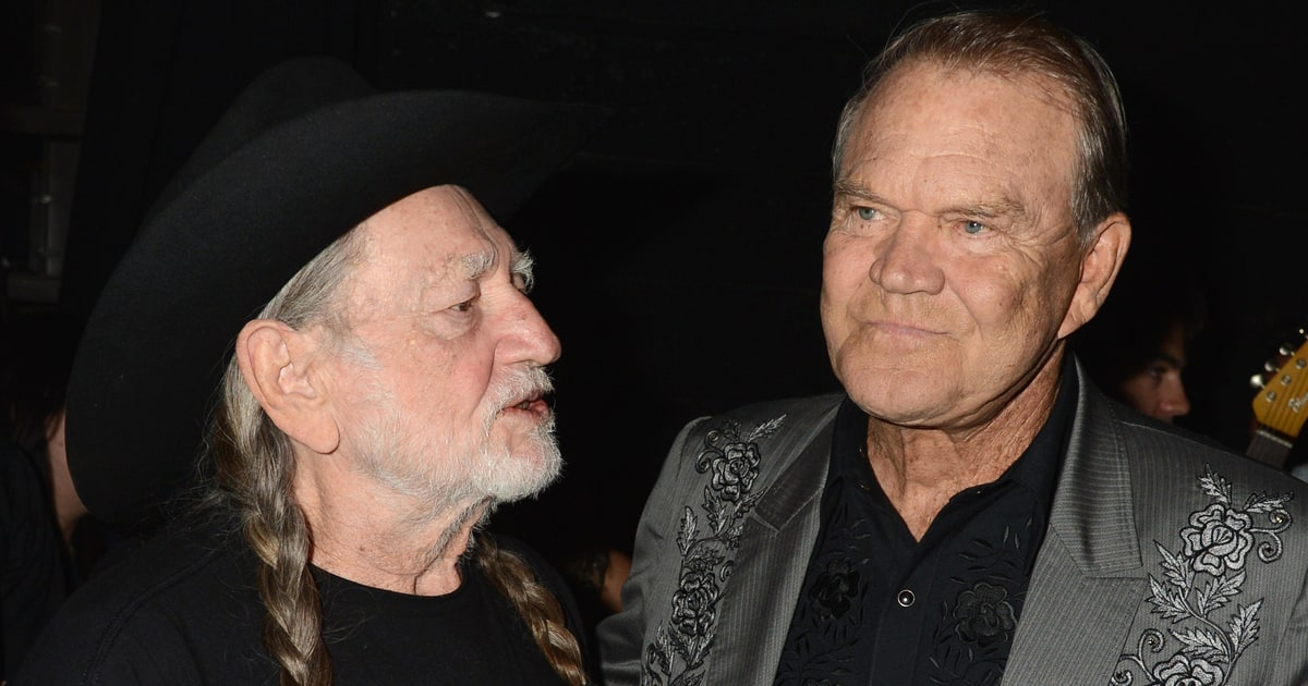 glen campbell willie nelson hear new duet rolling stone