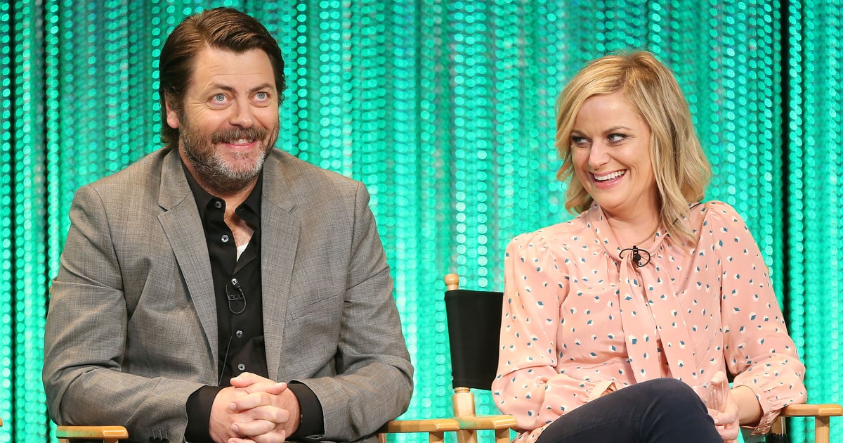 amy poehler nick offerman create new 39 handmade 39 reality show rolling stone. Black Bedroom Furniture Sets. Home Design Ideas
