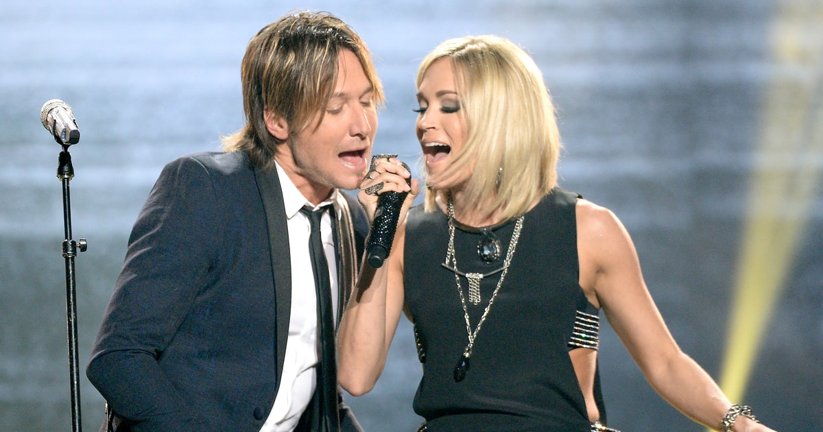 Carrie underwood keith urban to duet on acm awards for Carrie underwood and keith urban duet