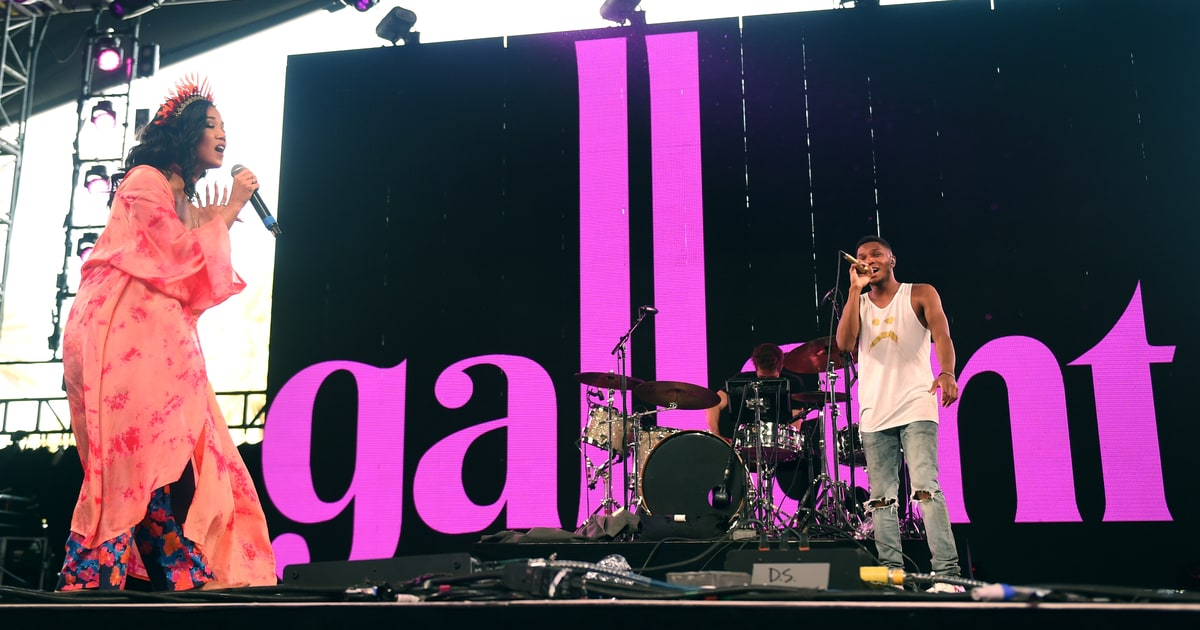Gallant ing at #Coachella | Photo: Emma McIntyre... instagram