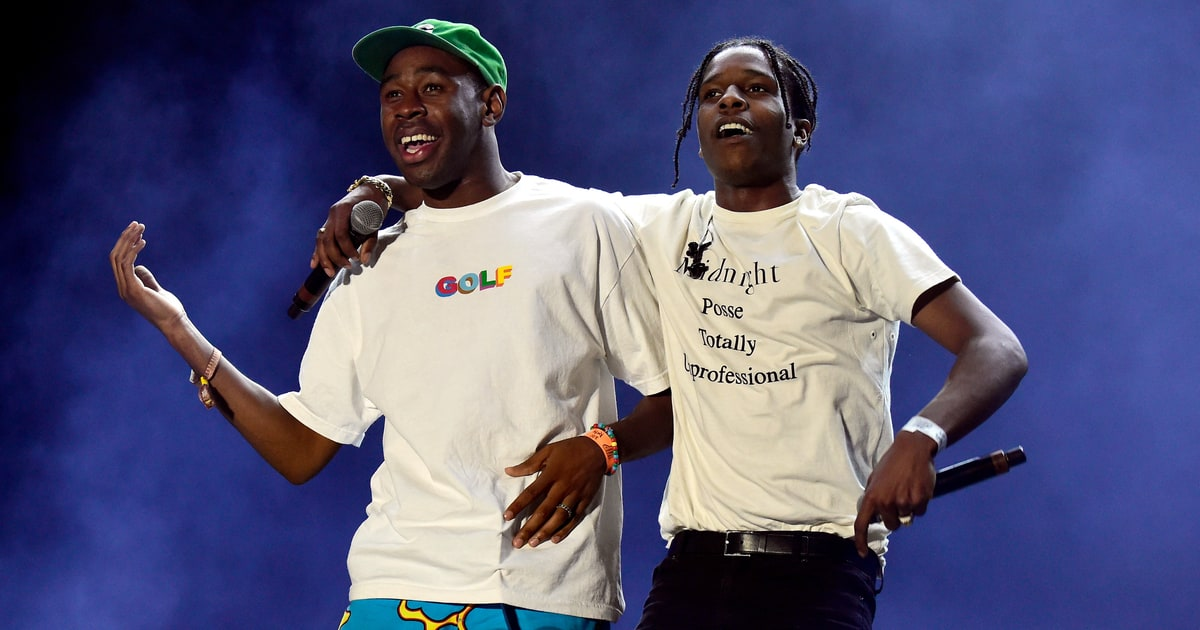A$AP Rocky Brought Out Tyler, the Creator, Miguel, and A$AP Ferg During His Set at Coachella news