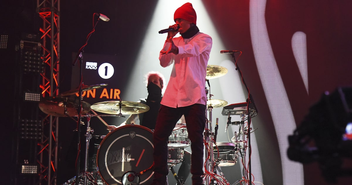 Twenty One Pilots scored another milestone as #StressedOut flies to No. 1 on the... instagram