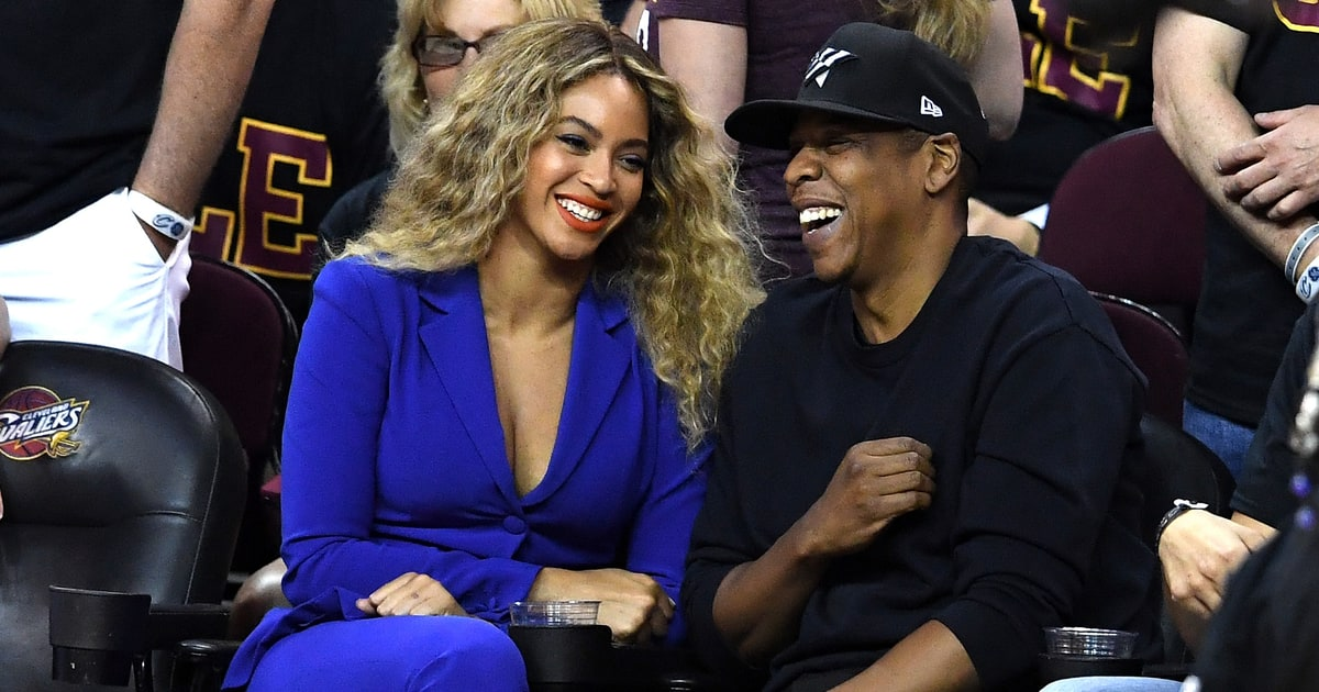 Beyonce, Jay Z Sit Courtside at NBA Finals Game 6: Photos - Us Weekly