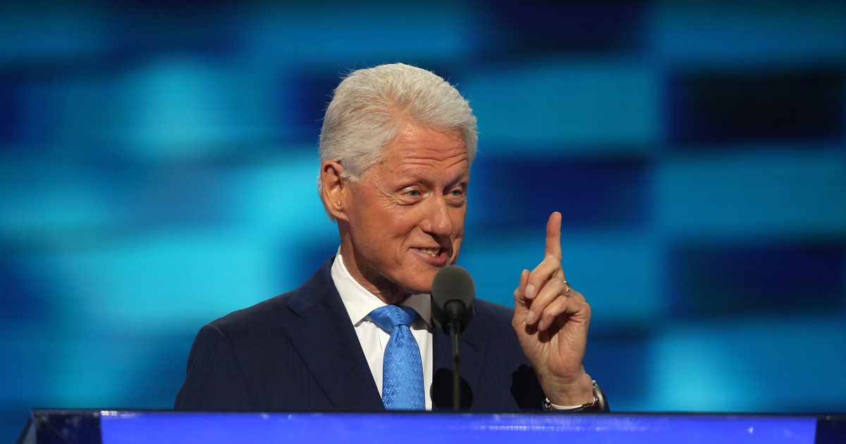 Watch Bill Clinton's Humanizing DNC Speech About The 'Real