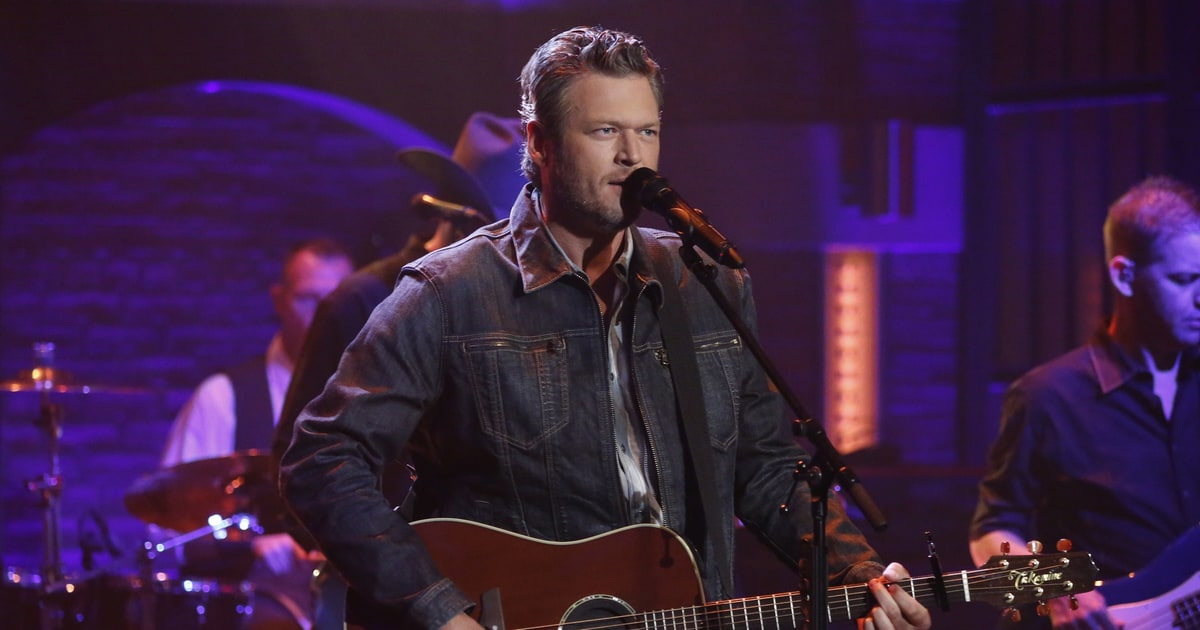Blake Shelton on Dating Gwen Stefani, Learning No Doubt Songs - Rolling Stone