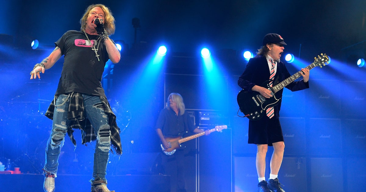 See Guns N Roses, Sebastian Bach Perform My Michelle in Las Vegas news