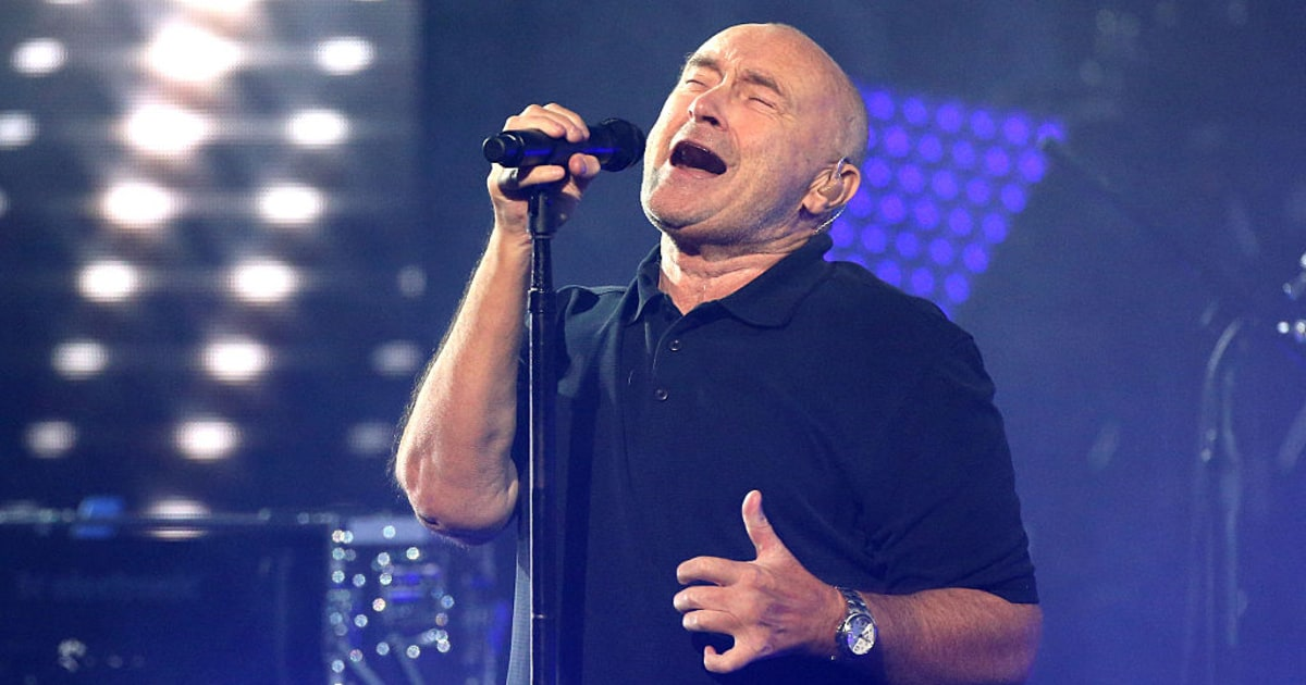 Phil Collins Performs Sussudio For First Time In 12