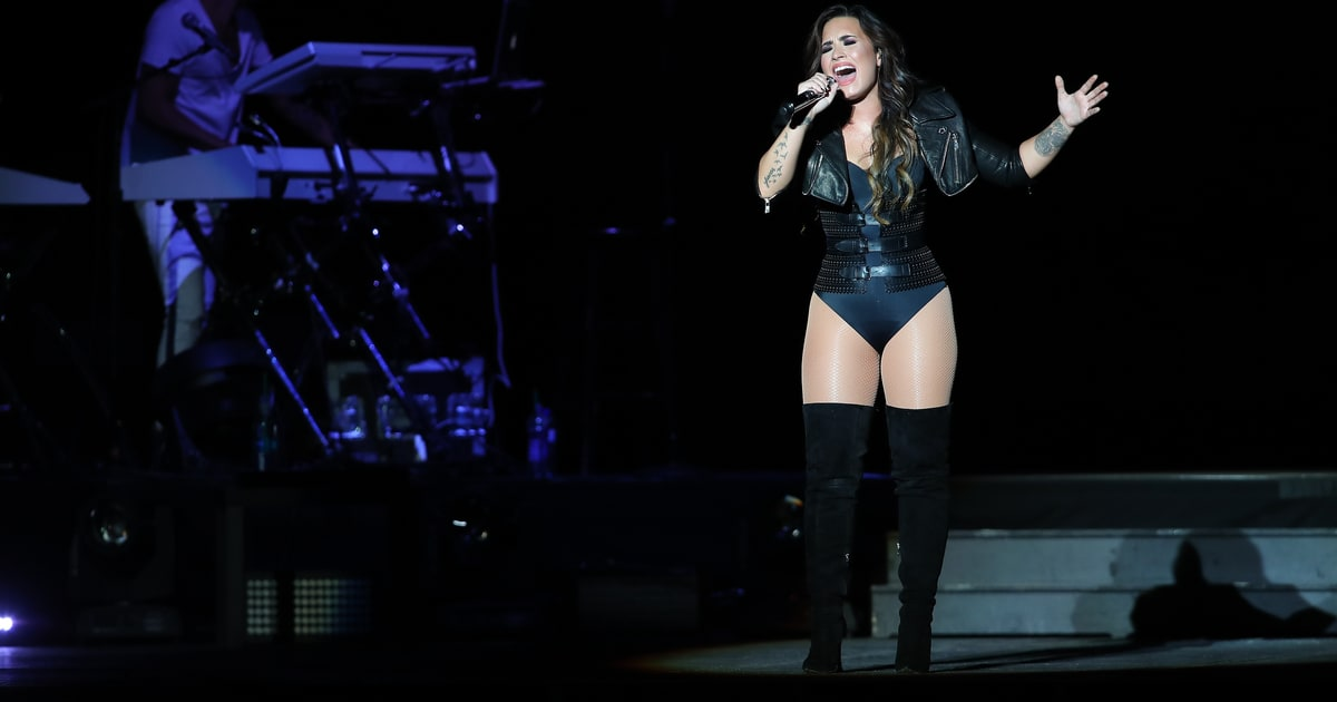 See Demi Lovato Sing 'Stone Cold' in Strangers' Home news