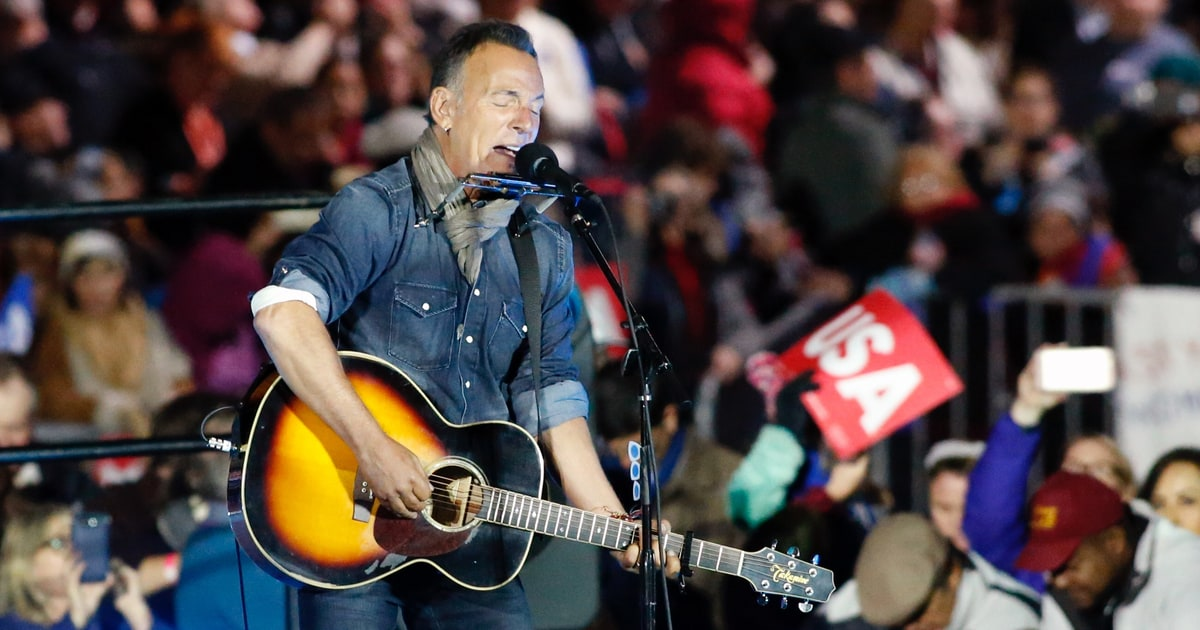 Watch Bruce Springsteen Recruit 10 Year Old for 'Blinded by the Light' news
