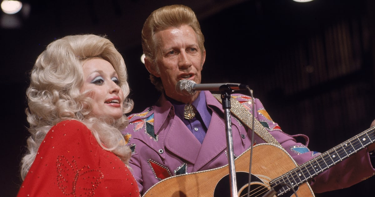 Flashback See Dolly Parton Porter Wagoner S Spooky Dark