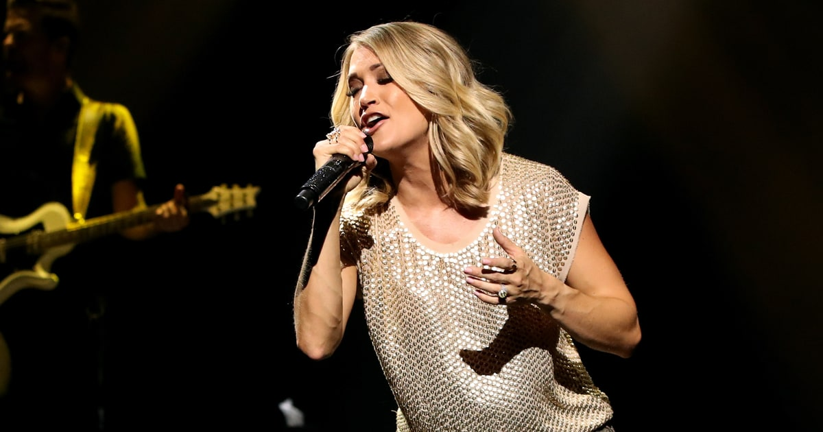Hear carrie underwood ludacris 39 super bowl song 39 the for Carrie underwood softly and tenderly