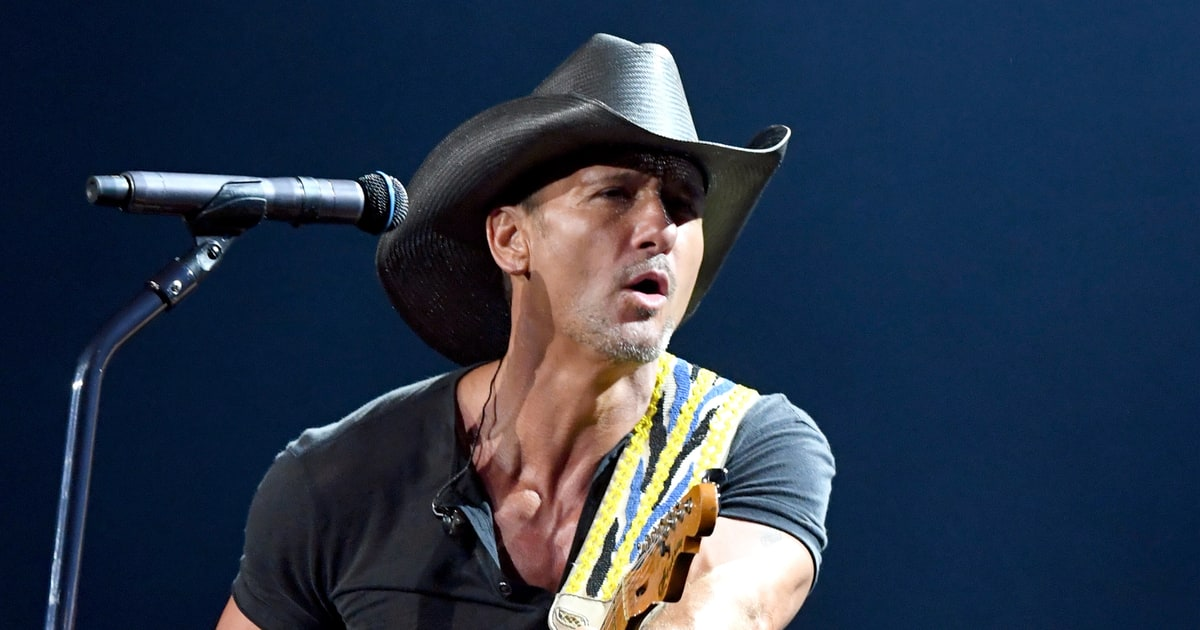 Country star Tim McGraw collapses on stage