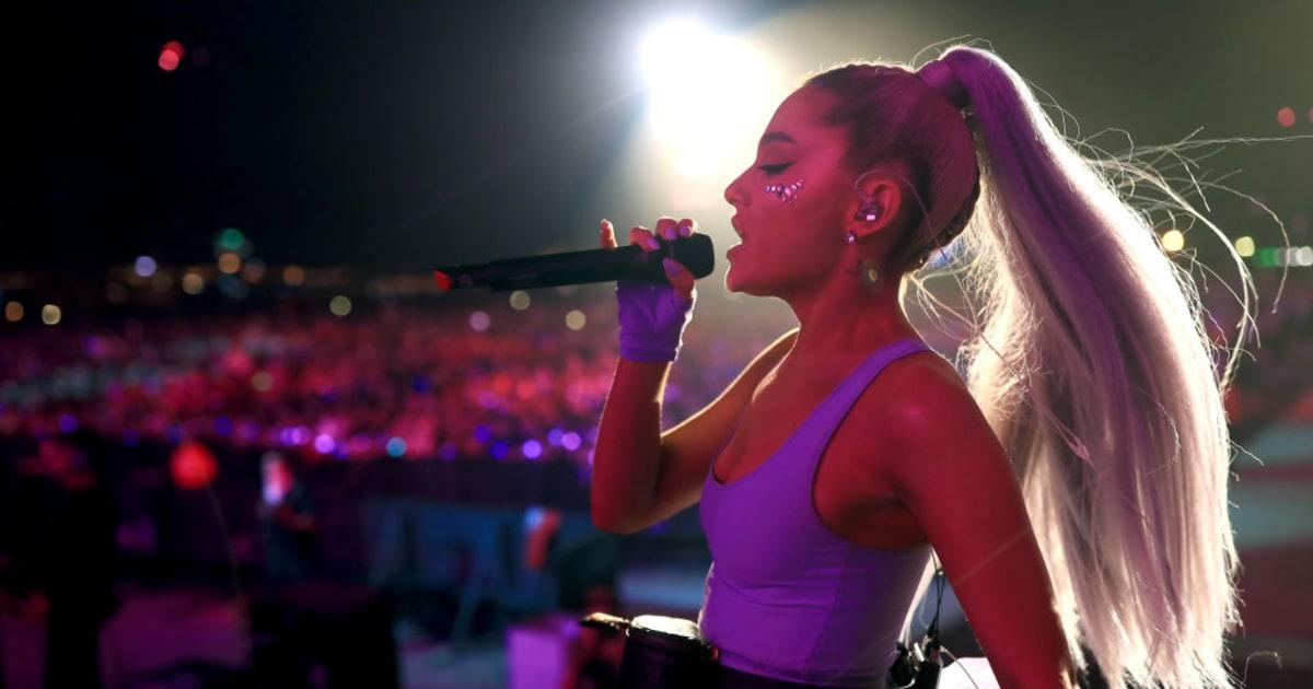 Ariana Grande Debuts '... Taylor Swift Reputation Album