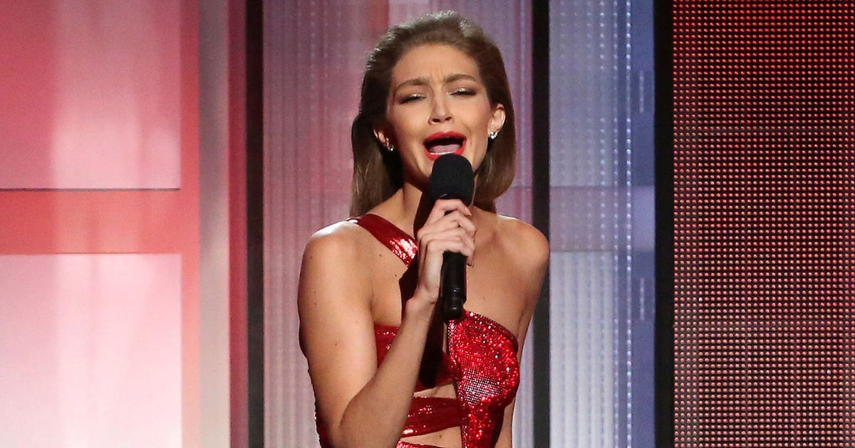 Gigi Hadid Faces Backlash Over Melania Trump Impression at AMAs