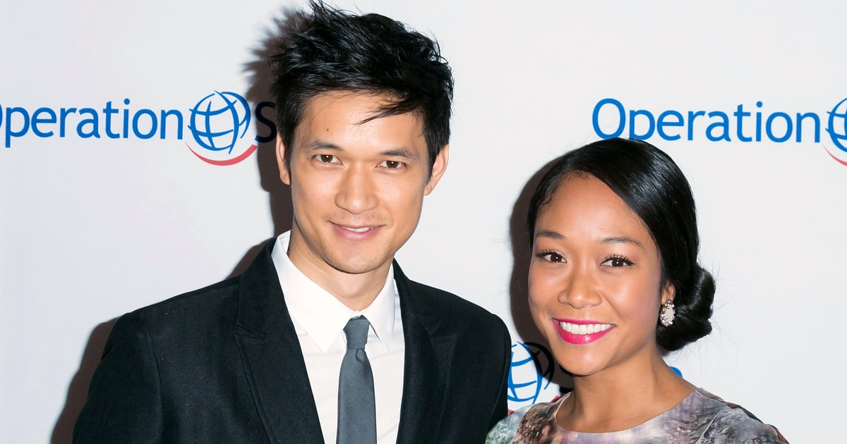 Harry shum jr marries longtime girlfriend shelby rabara