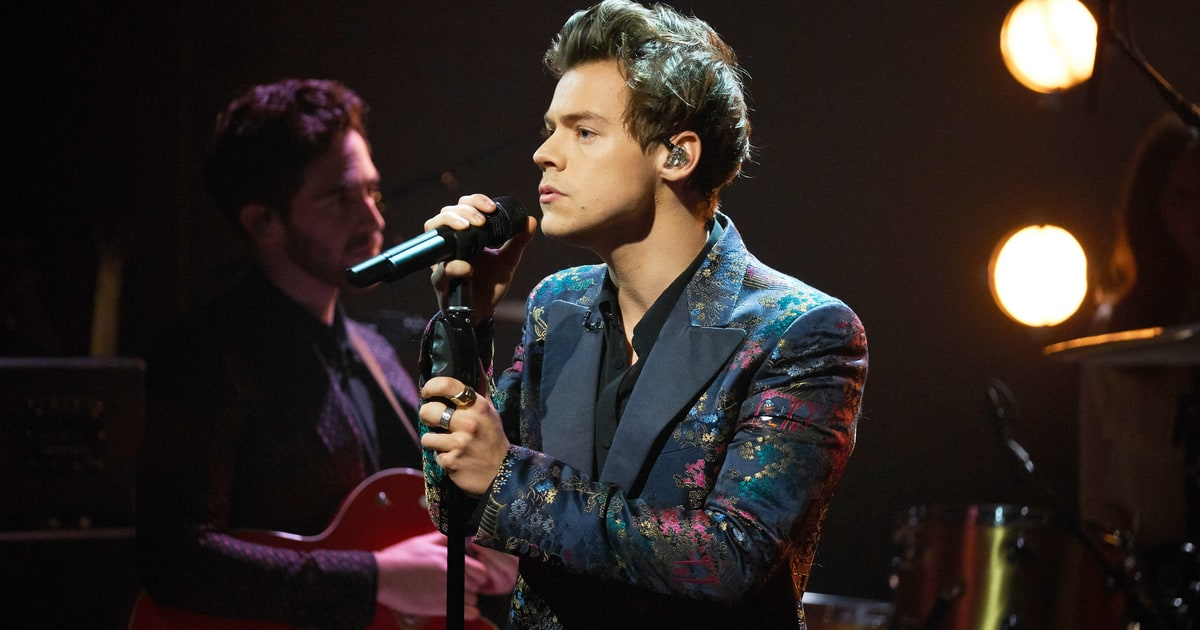 See Harry Styles' Staggering 'Sign Of The Times' On