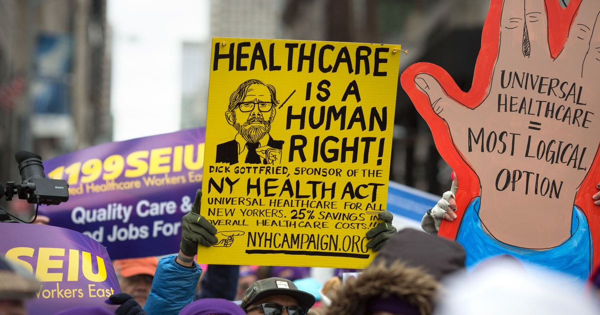 a right to healthcare I propose an amendment to protect americans' right to health care congress shall make no law abridging the right to obtain health care or health care insurance, or imposing a tax or other penalty for the failure to obtain health care or health care insurance.