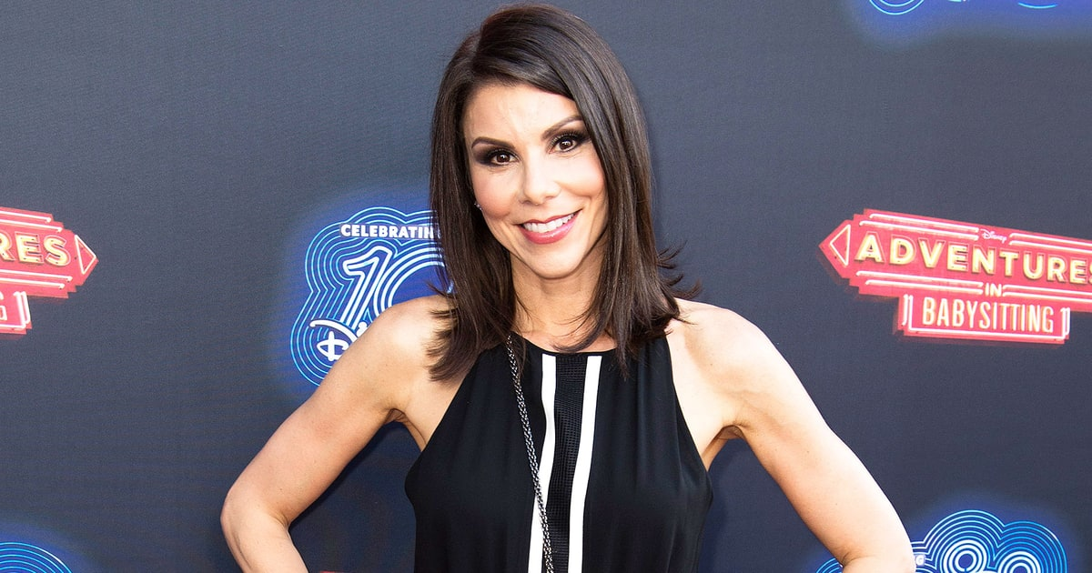 Heather Dubrow Gives A Tour Of Huge Closet Video Us Weekly