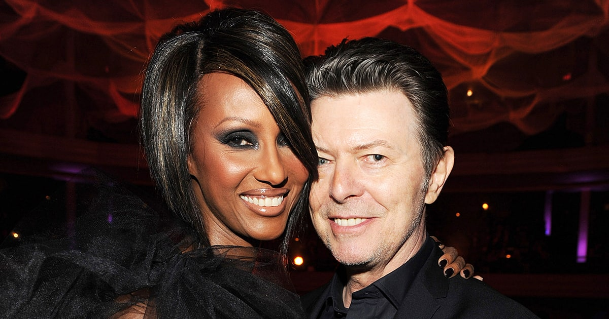 David Bowie's Wife Iman Posts Heartbreaking Photos
