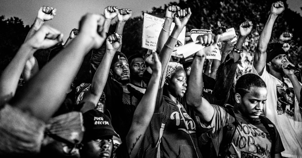 A Year Inside The Black Lives Matter Movement Rolling Stone