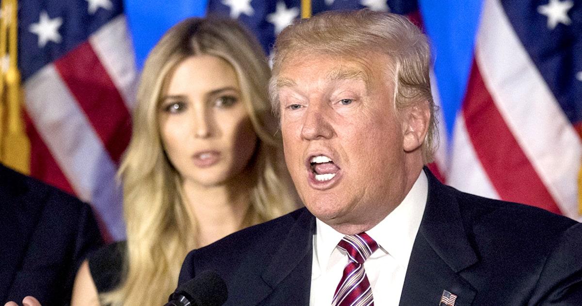 Ivanka Trump Winces as Donald Trump Slams the Clintons: Watch! - Us ...