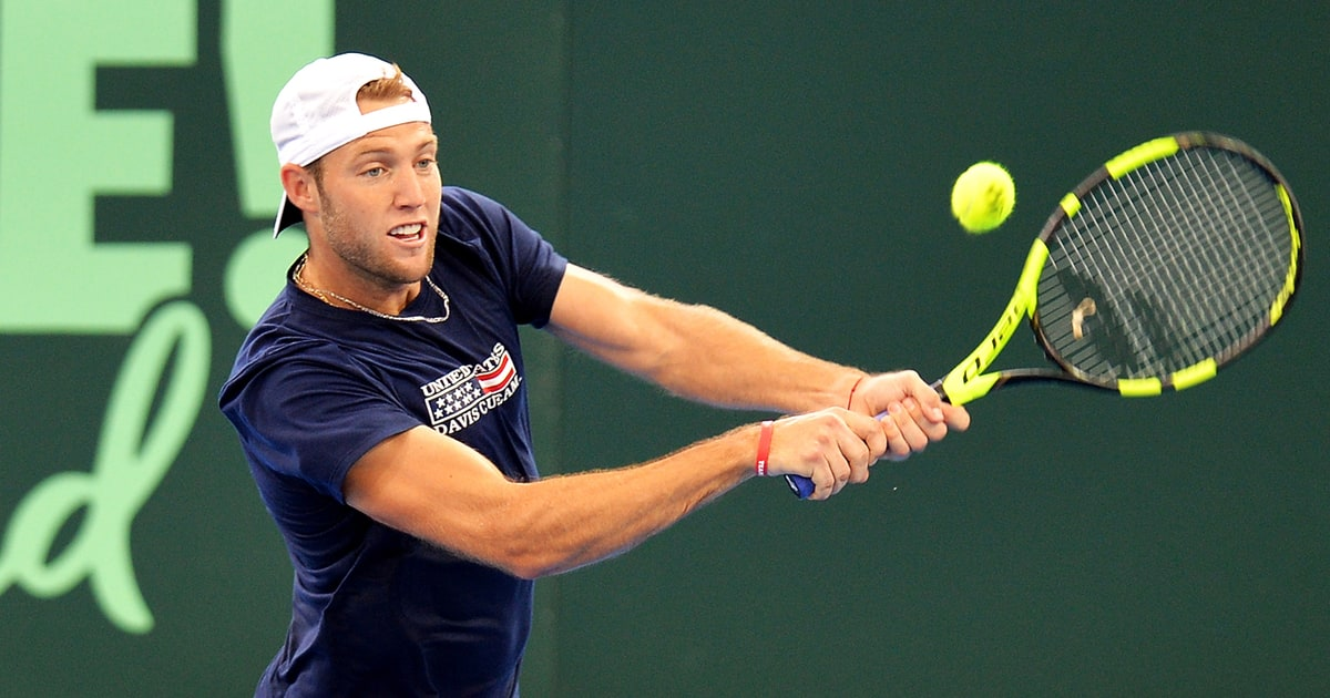 Jack Sock: The Next Great Hope For U.S. Men's Tennis ...