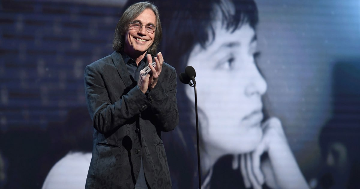Jackson Browne Talks Rock Hall Moments From Joan Baez to ...