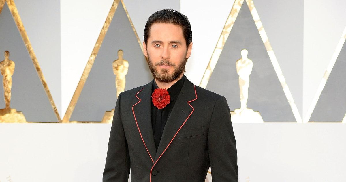 Jared Leto | Oscars 2016 Red Carpet Fashion: Men in Tuxes ...