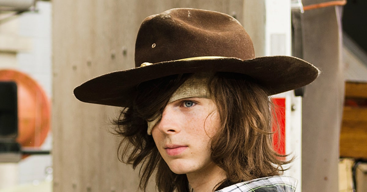 Walking Dead S Chandler Riggs Carl On Whether He S