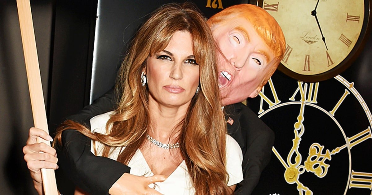 Jemima Khan's Halloween Ball Costume Is Of Trump Groping