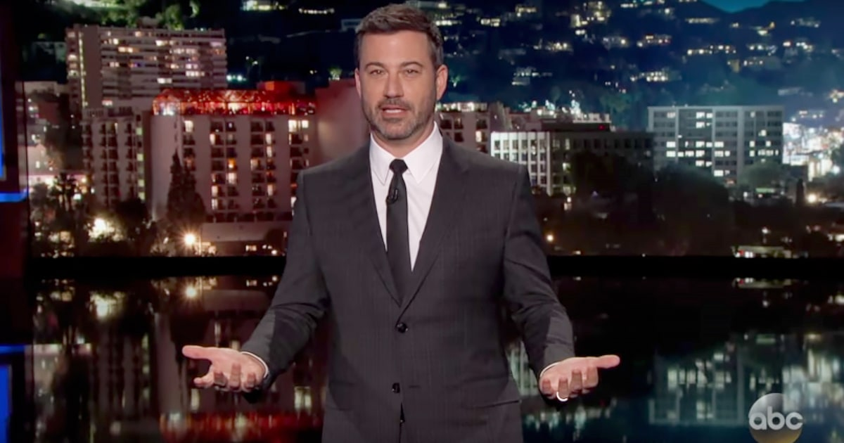 Watch Jimmy Kimmel Ask About Trump 39 S White House