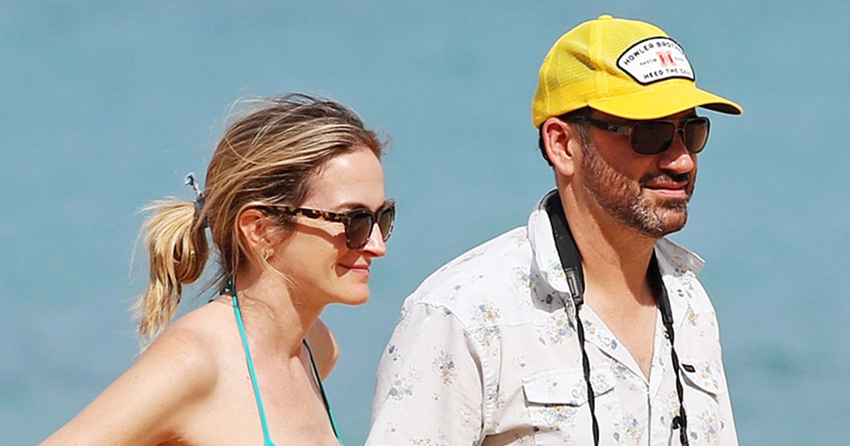 Jimmy Kimmel S Wife Molly Mcnearney Is Pregnant Us Weekly