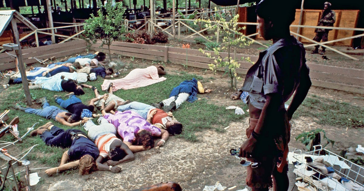 was jonestown murder or suicide An audio recording made on november 18, 1978, at the peoples temple compound in jonestown, guyana immediately preceding and during the mass suicide and murder of over 900 members of the cult.