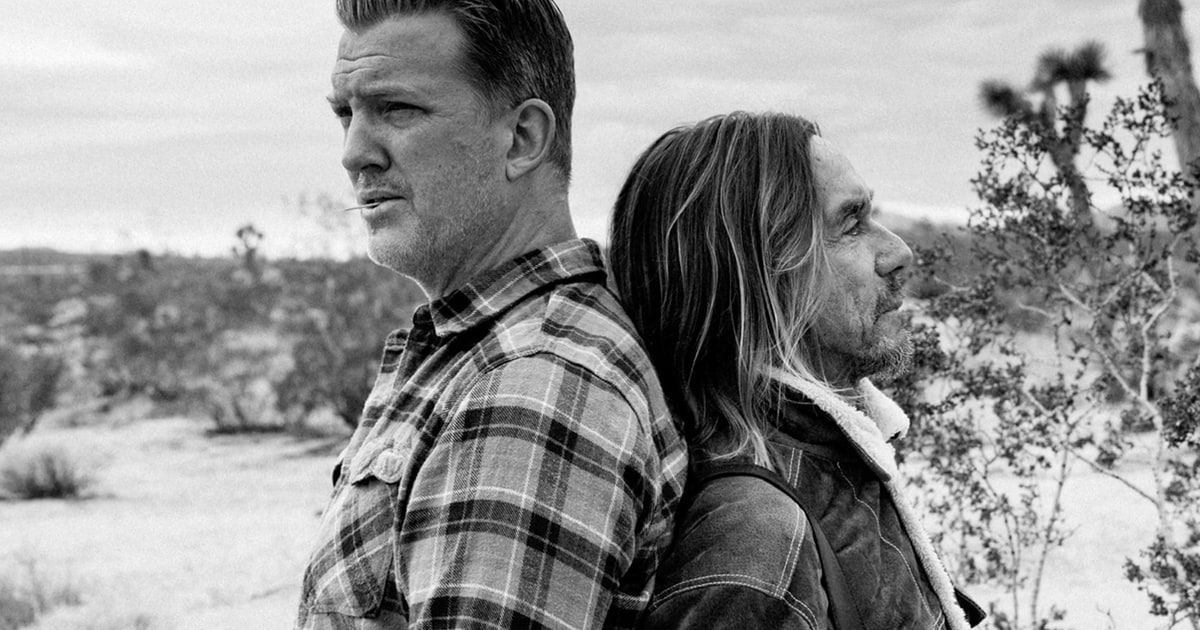 See Iggy Pop Josh Homme Talk Post Pop Depression