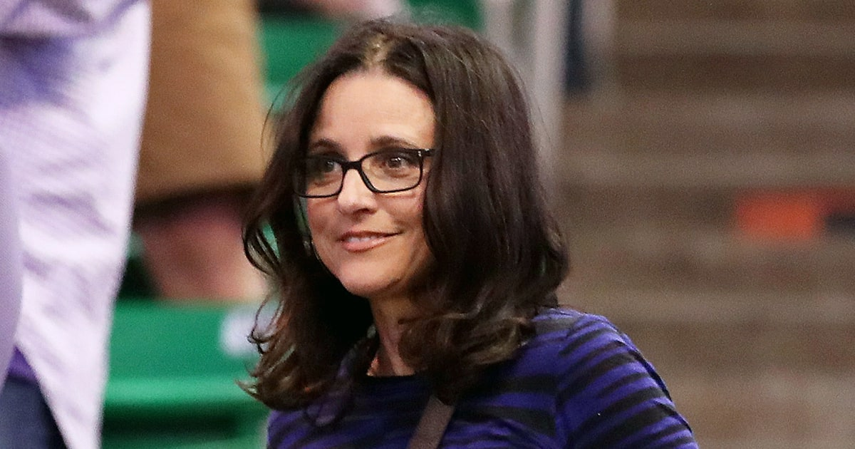 You Need To See Julia Louis Dreyfus Celebrating Her Son S