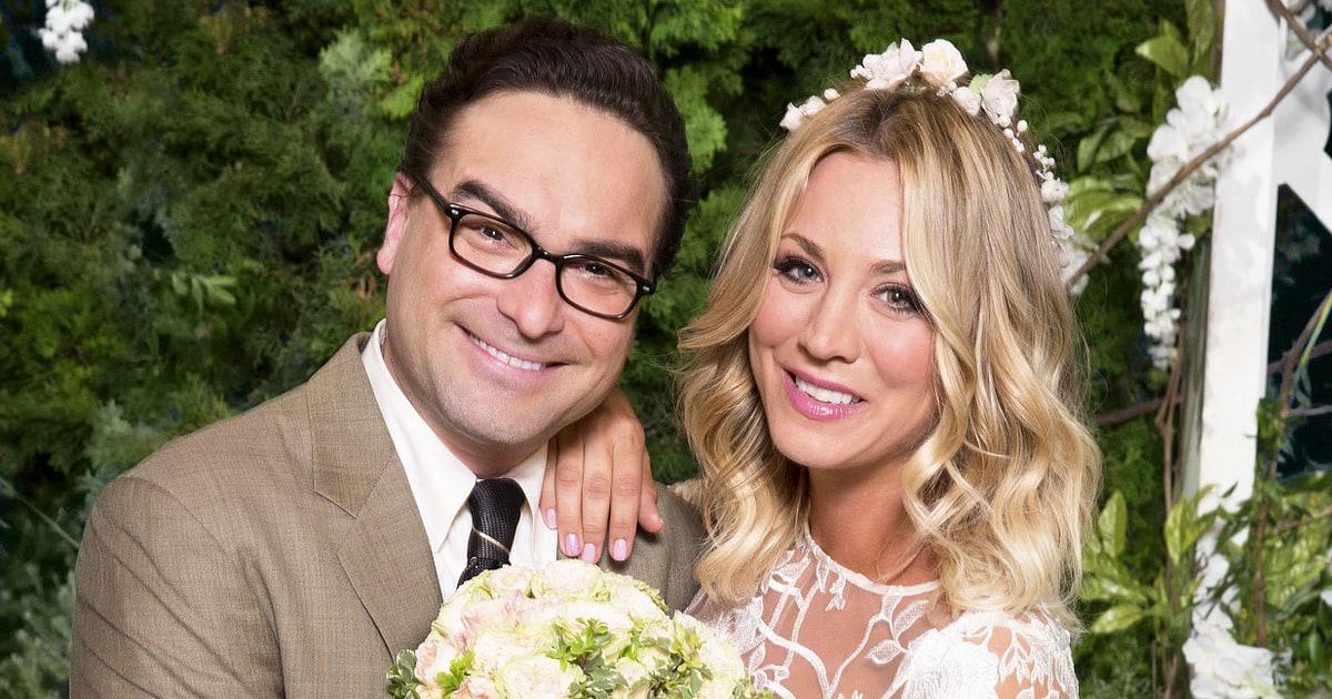 See Kaley Cuoco S Big Bang Theory Wedding Dress From Season 10