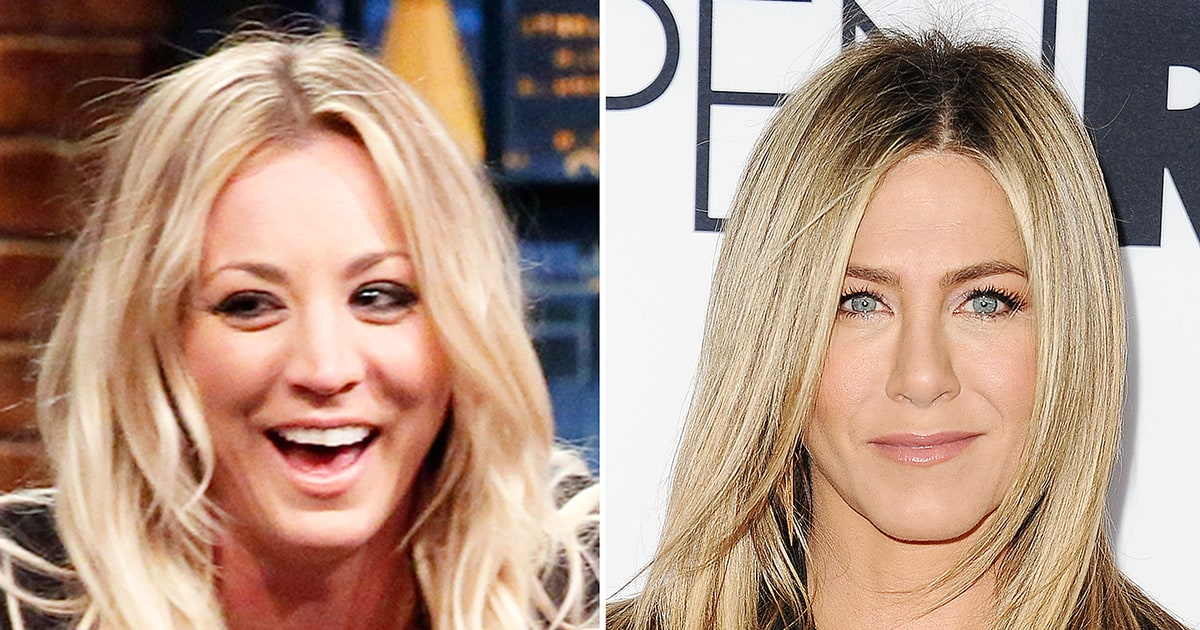 Kaley Cuoco Lost Her Mind When She Met Jennifer Aniston