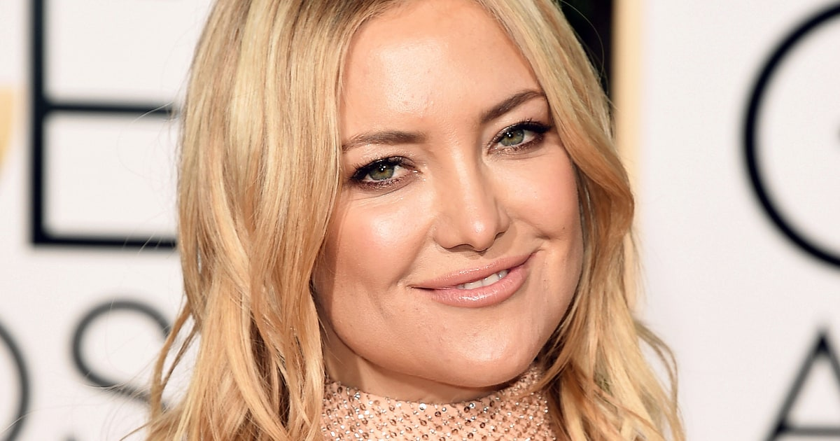 Kate Hudson's Wavy Haircut | Golden Globes 2016 Beauty Breakdown ... Kate Hudson
