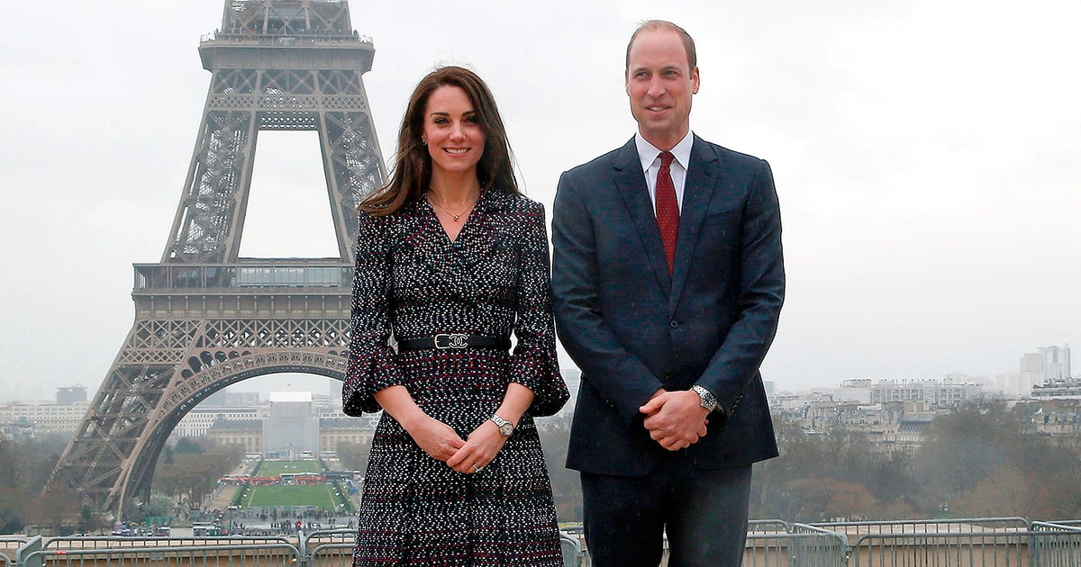 Prince William and Duchess Kate Look So in Love in Paris: Pics