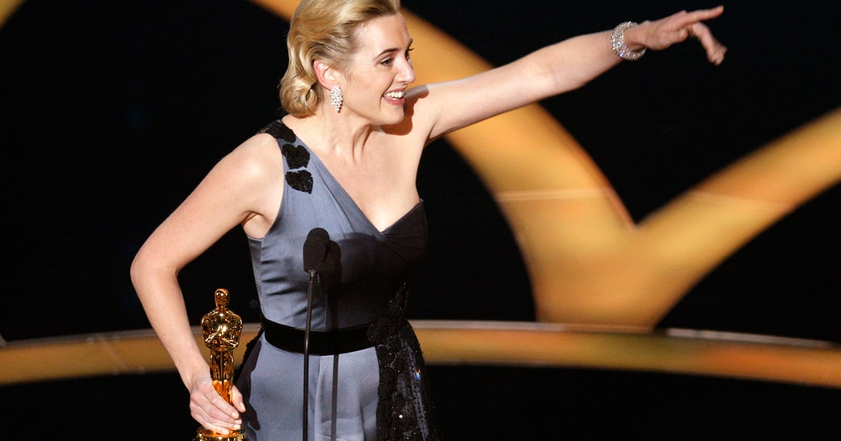 Kate Winslet Refused to Thank Harvey Weinstein at 2009 Oscars