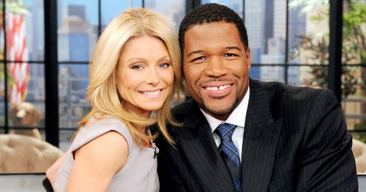 Michael Strahan Exits 'Live With Kelly and Michael' - Us Weekly