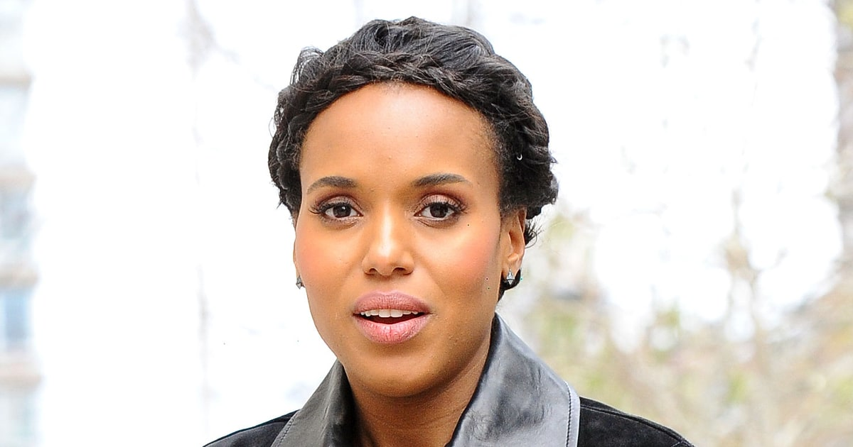 Kerry Washington S Crown Braids Love It Or Hate It Us