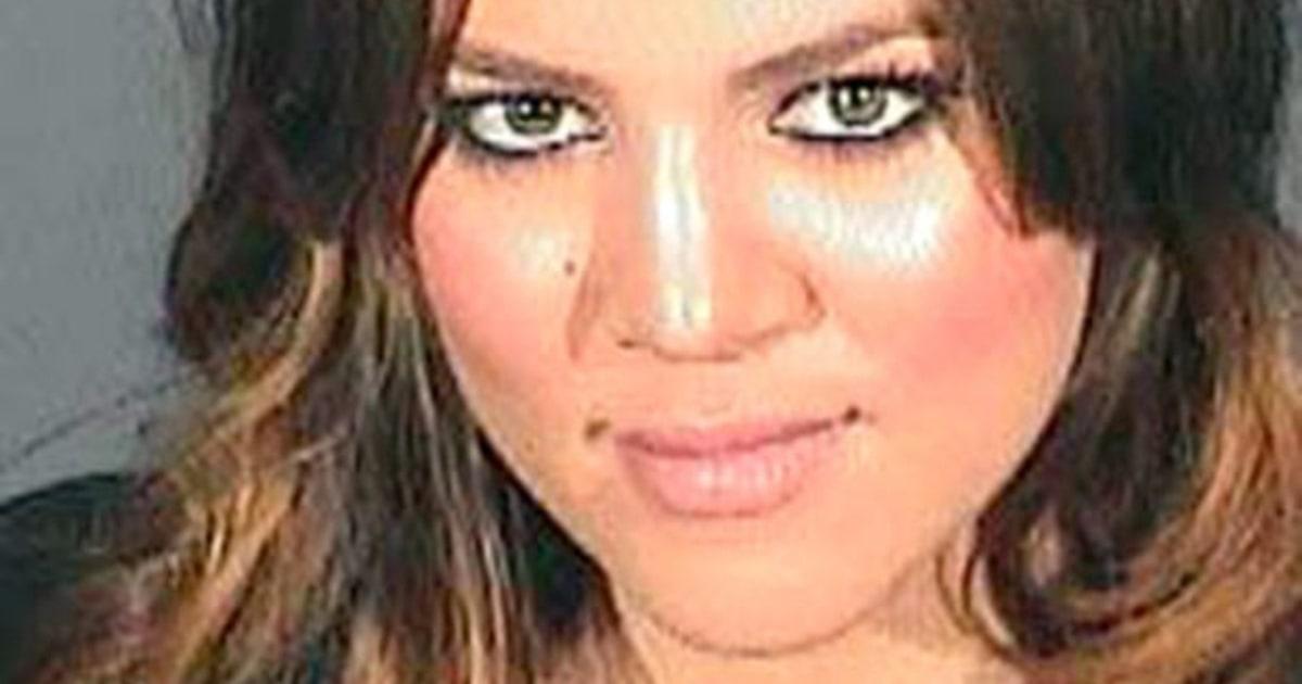 Kris Jenner Kim Kardashian Keep Khloe S Mug Shot Framed