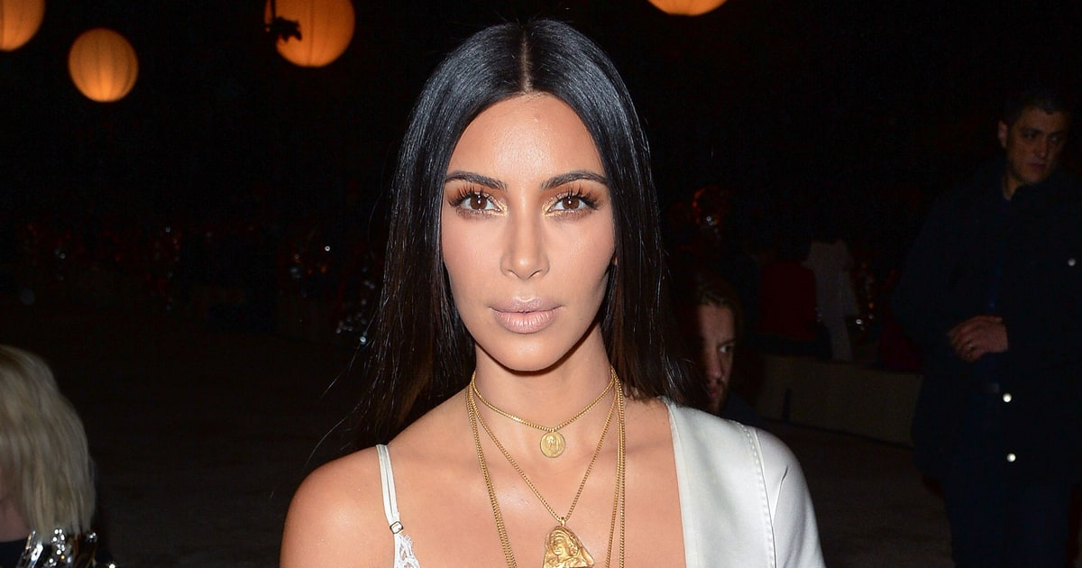 Kim Kardashian Trades Diamonds for Modest Jewelry on Social Media