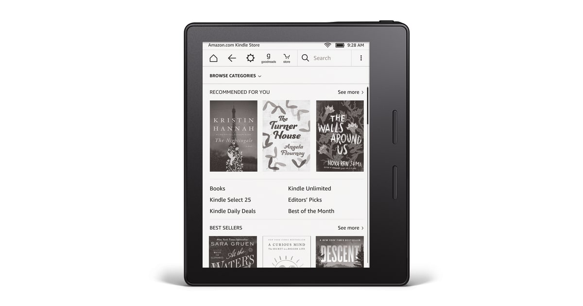 72 Hours With the Amazon Kindle Oasis - Men's Journal