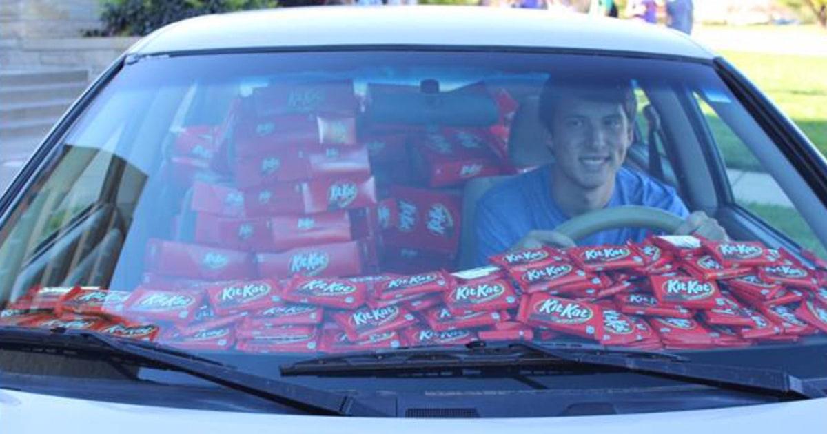 Kit Kat Theft Victim S Car Filled With 6 500 Kit Kat Bars