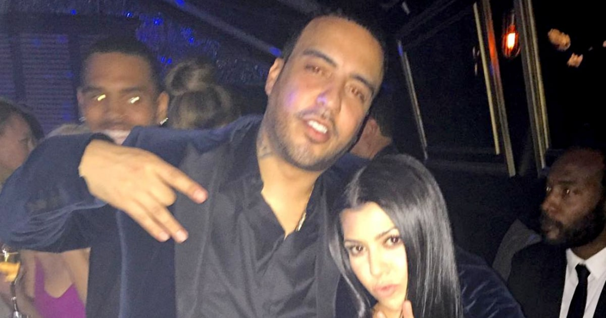 kourtney kardashian dating french montana We finally get a family photo on tuesday night, blac chyna seemingly responded to french montana dating rumors with a snapchat photo of herself alongside fiancé rob kardashian and infant.